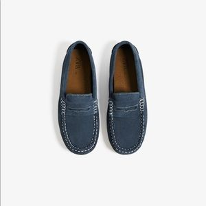 Zara baby boy leather moccasins